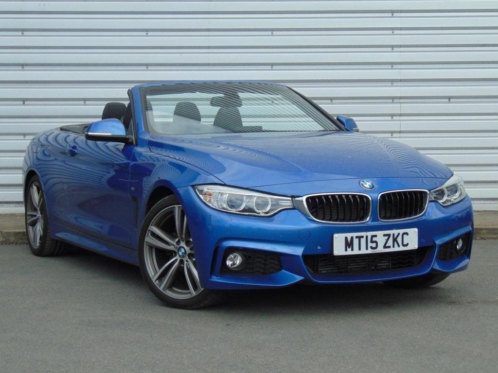 BMW 4 Series Convertible MT15ZKC - Image 1