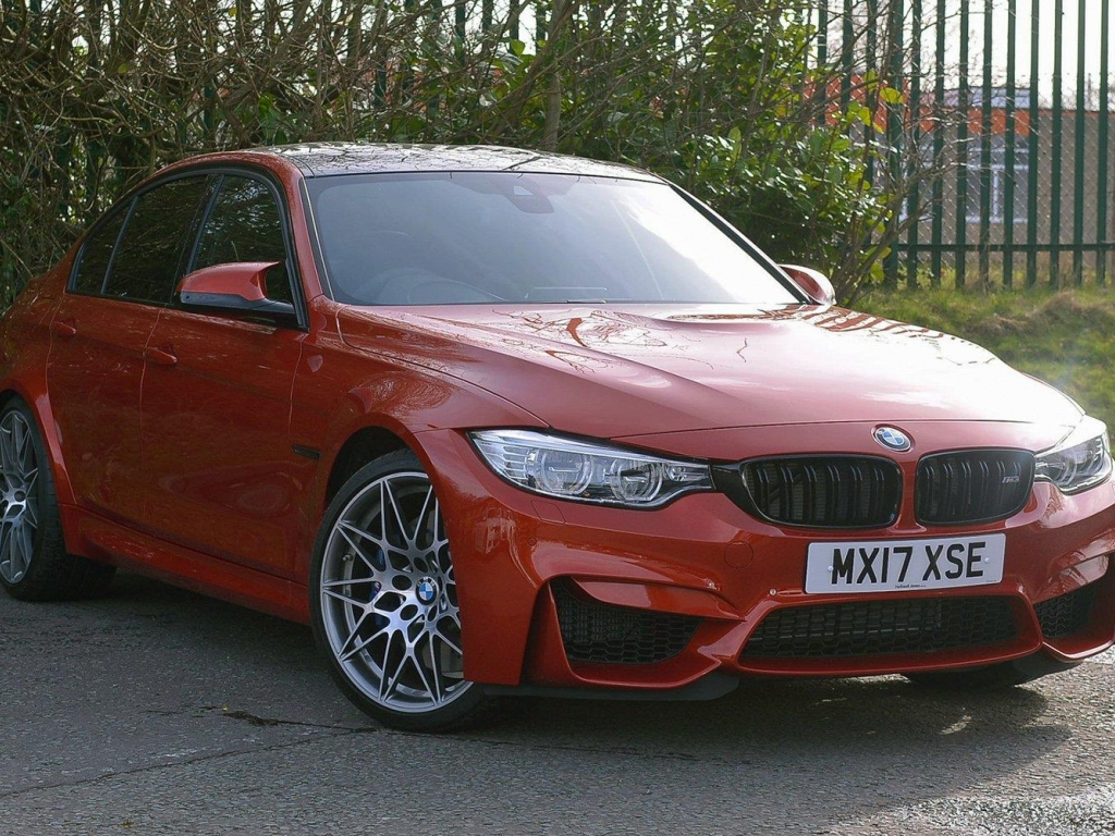 BMW M3 Saloon MX17XSE - Image 1