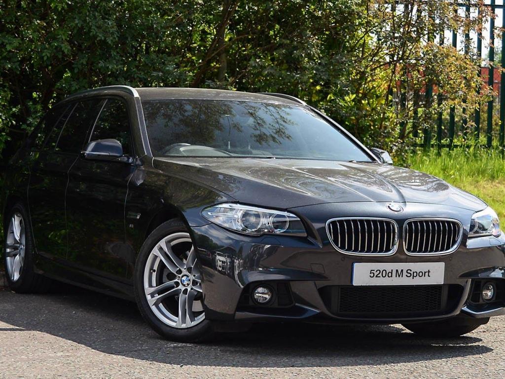 BMW 5 Series Touring YK63ODW - Image 8