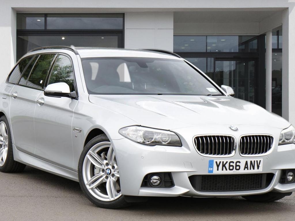 BMW 5 Series Touring YK66ANV - Image 1