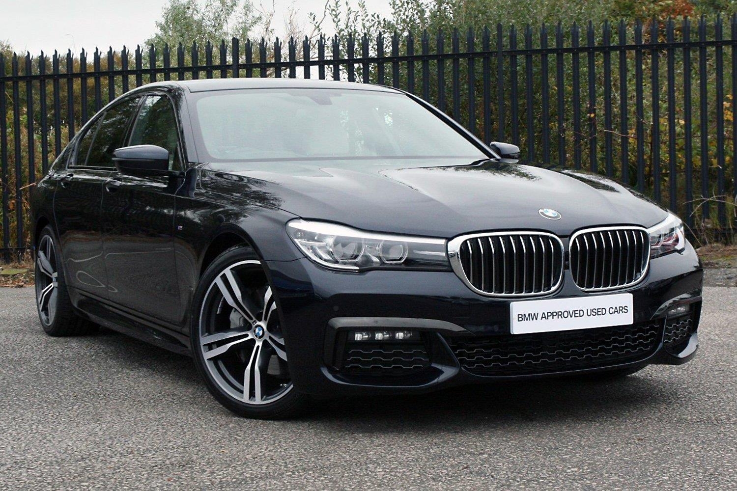 BMW 7 Series Saloon PG66OTK - Image 4
