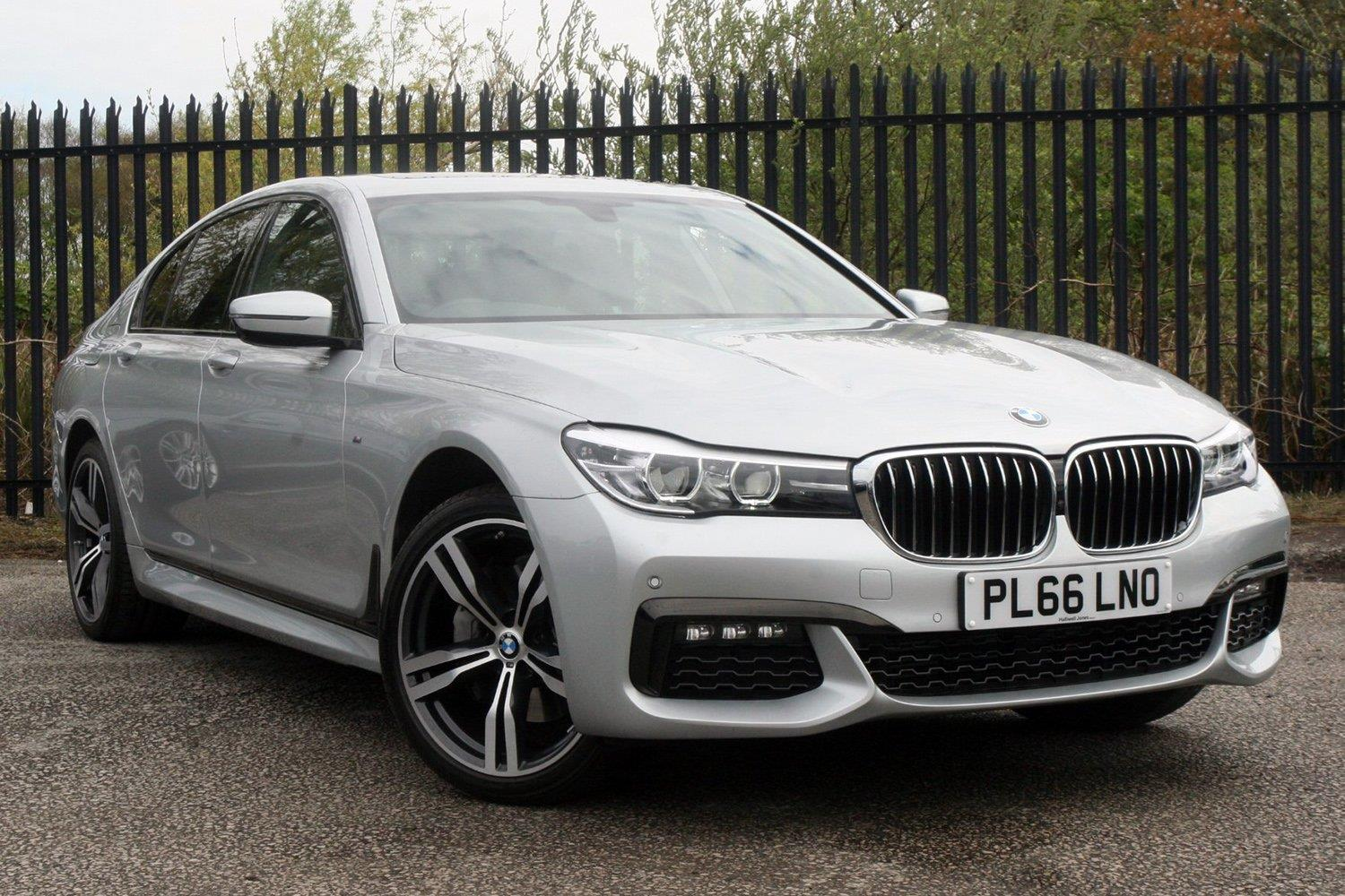 BMW 7 Series Saloon PL66LNO - Image 8