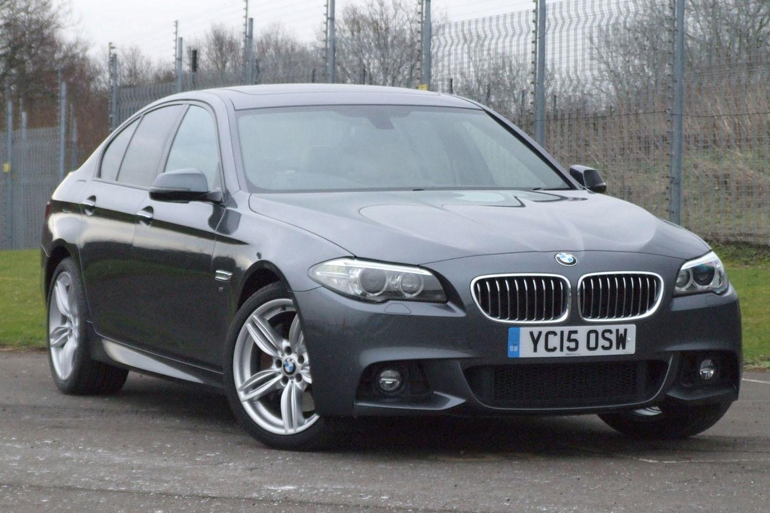 BMW 5 Series Saloon YC15OSW - Image 1