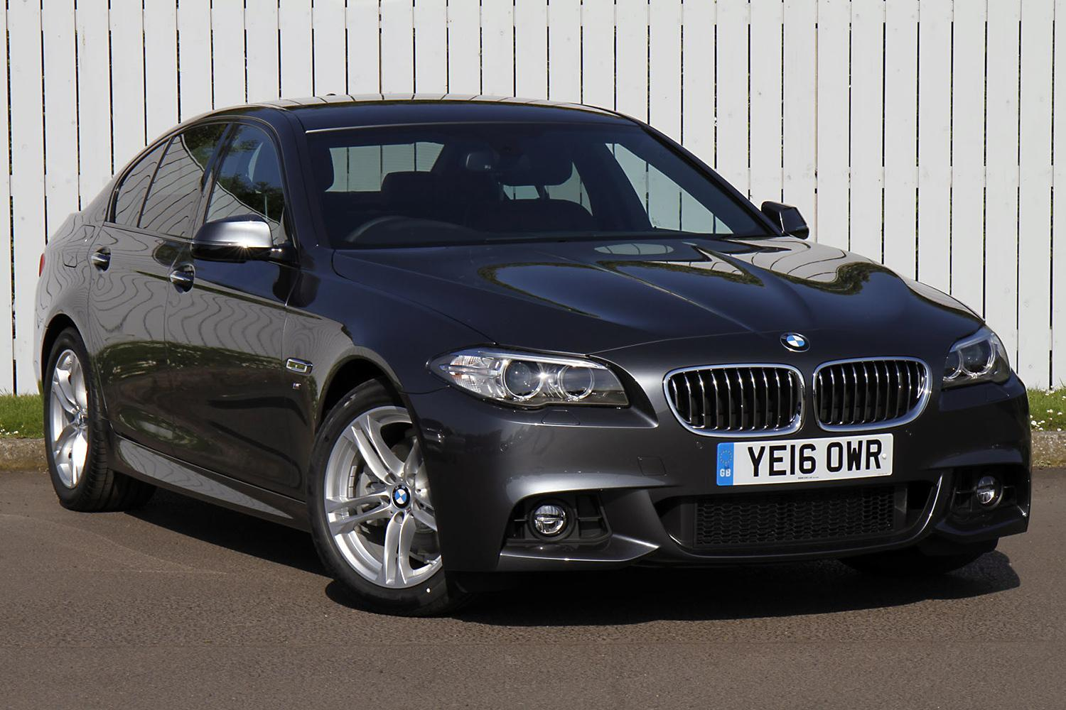 BMW 5 Series Saloon YE16OWR - Image 4