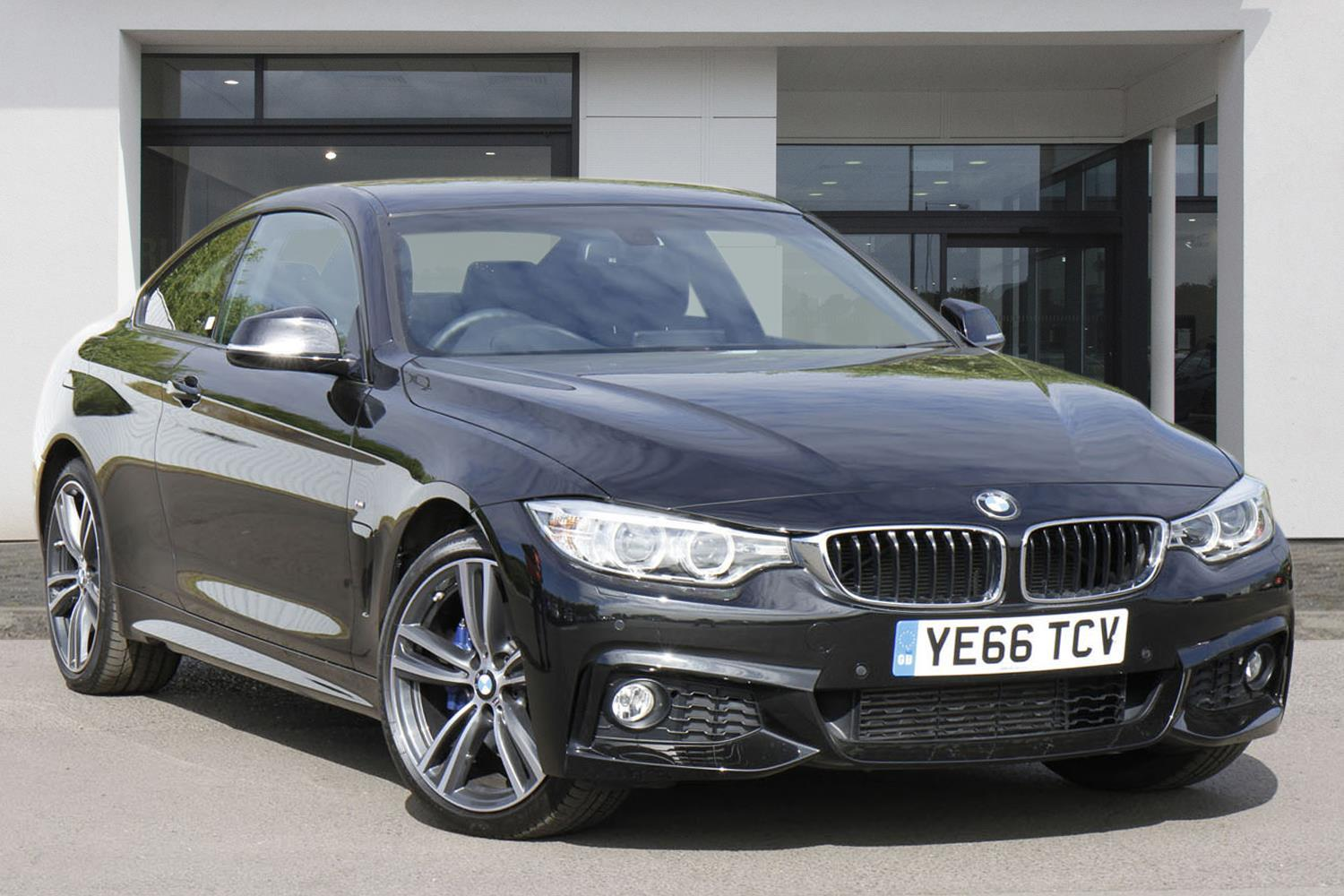 BMW 4 Series Coupé YE66TCV - Image 1