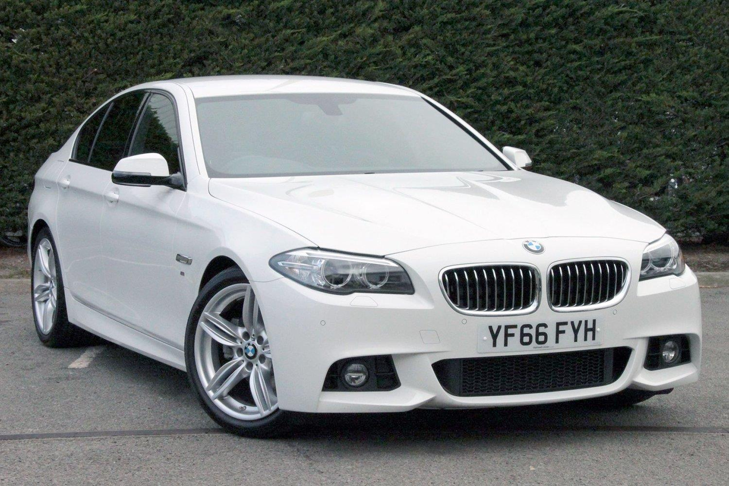 BMW 5 Series Saloon YF66FYH - Image 3