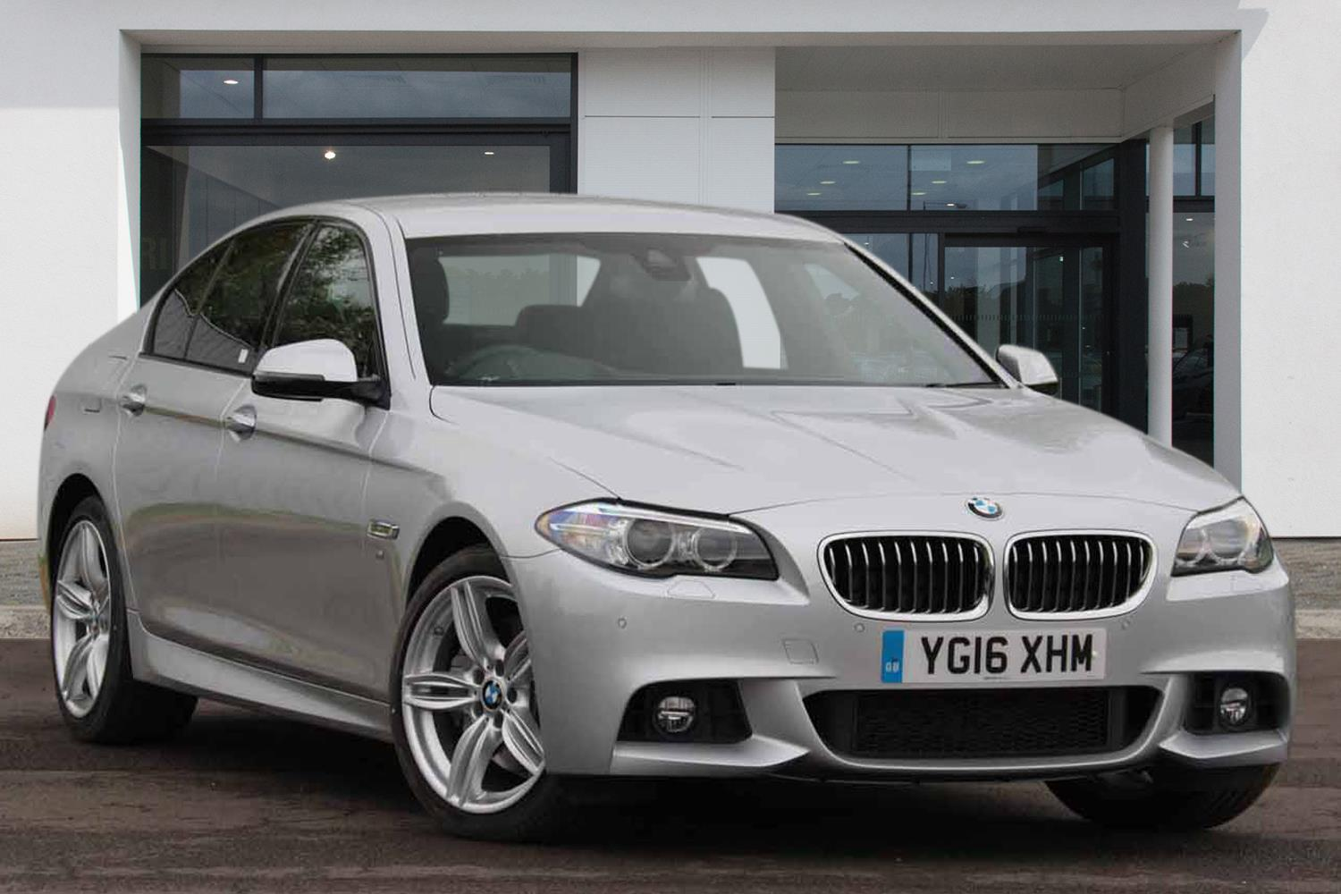 BMW 5 Series Saloon YG16XHM - Image 7