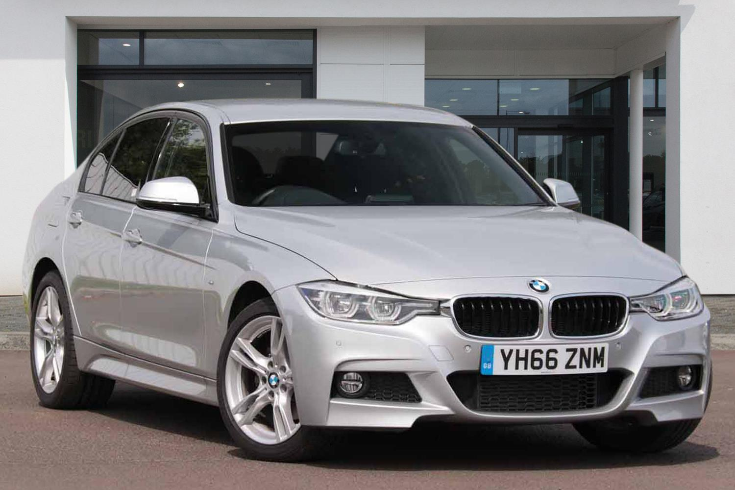BMW 3 Series Saloon YH66ZNM - Image 1
