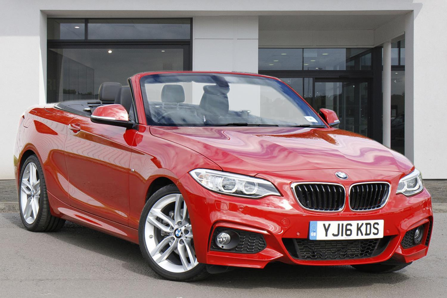 BMW 2 Series Convertible YJ16KDS - Image 1