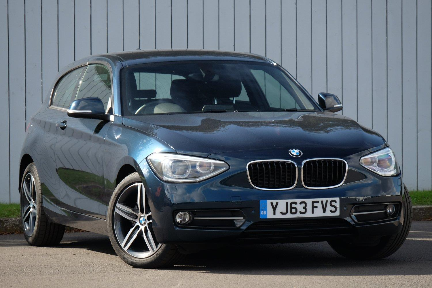 BMW 1 Series 3-door Sports Hatch YJ63FVS - Image 1
