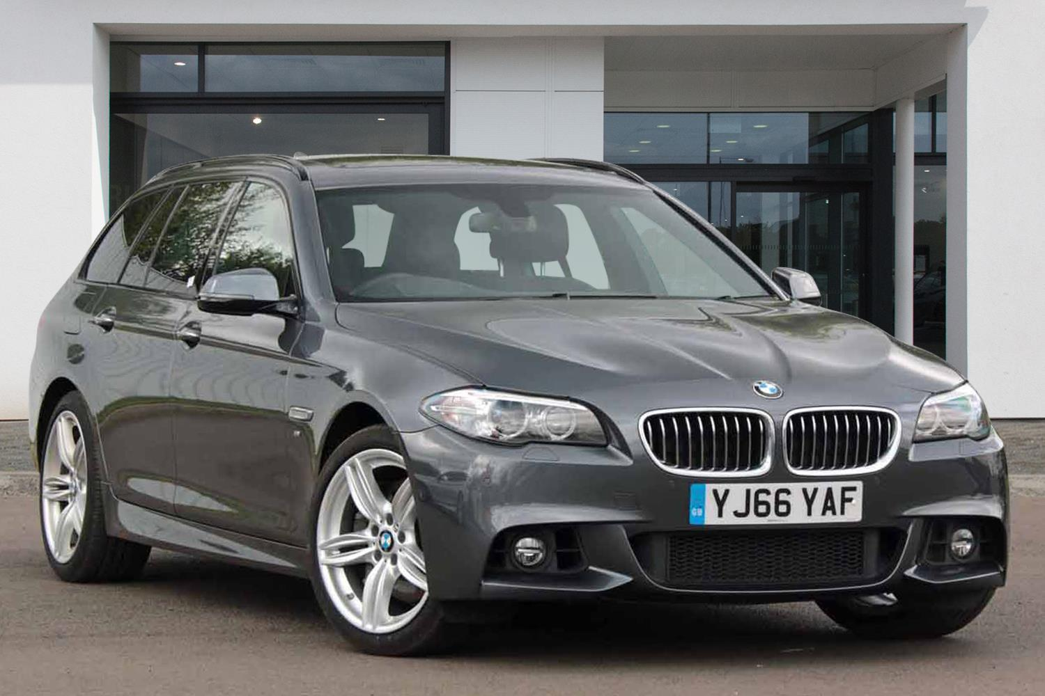 BMW 5 Series Touring YJ66YAF - Image 3
