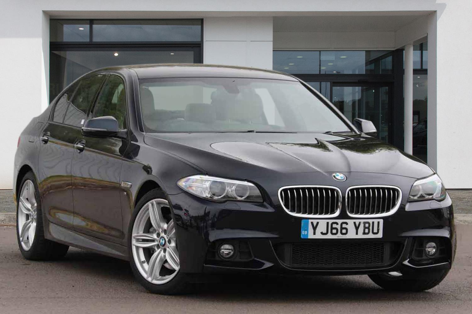 BMW 5 Series Saloon YJ66YBU - Image 4