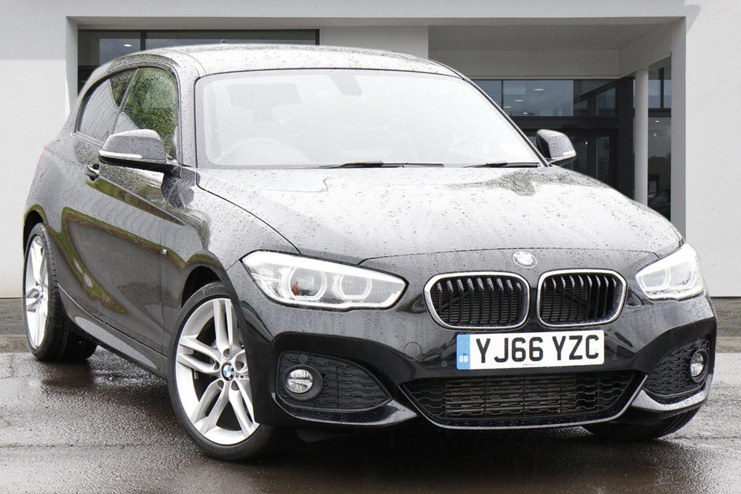 BMW 1 Series 3-door Sports Hatch YJ66YZC - Image 9