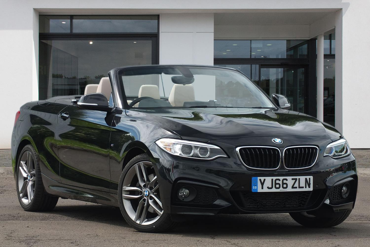 BMW 2 Series Convertible YJ66ZLN - Image 3