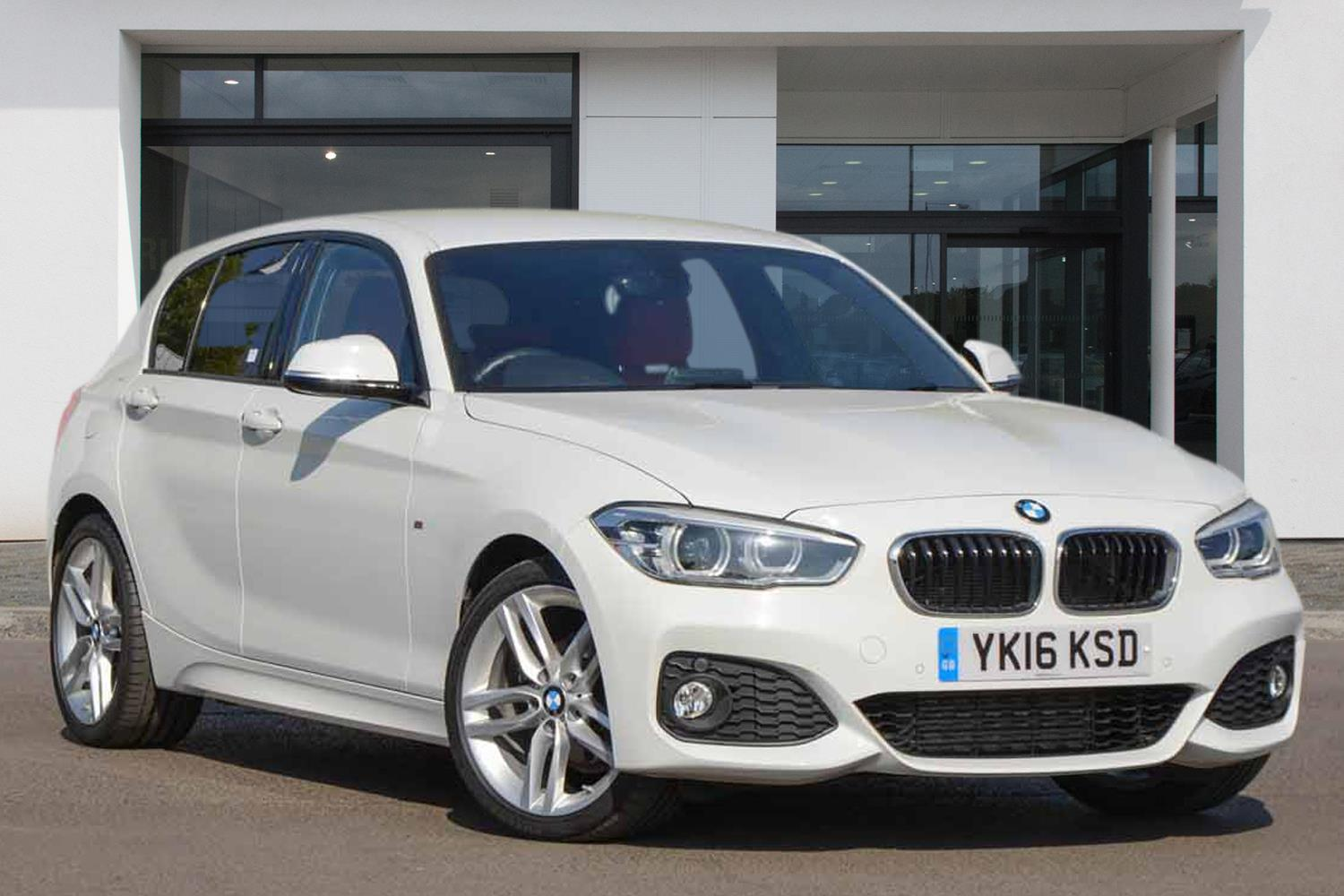 BMW 1 Series 5-door Sports Hatch YK16KSD - Image 2