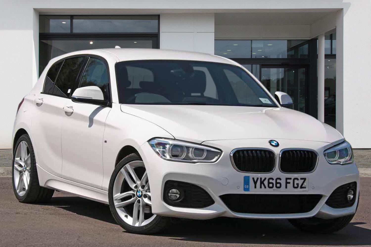BMW 1 Series 5-door Sports Hatch YK66FGZ - Image 1