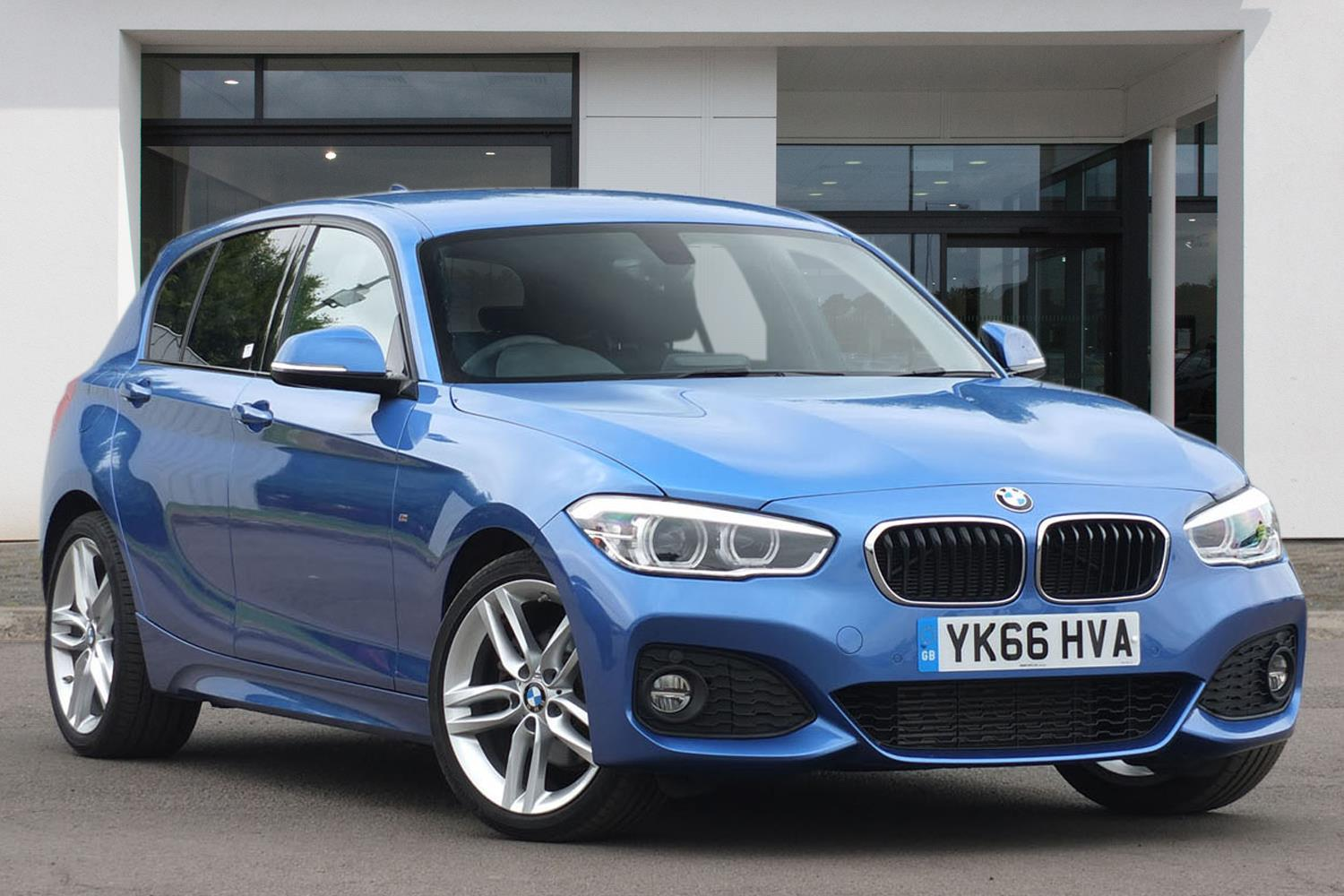 BMW 1 Series 5-door Sports Hatch YK66HVA - Image 8