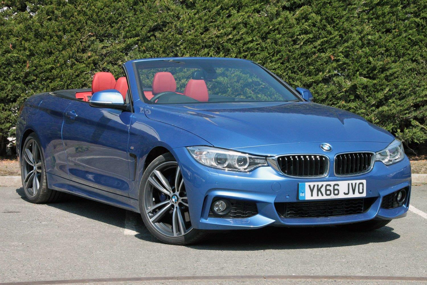BMW 4 Series Convertible YK66JVO - Image 4
