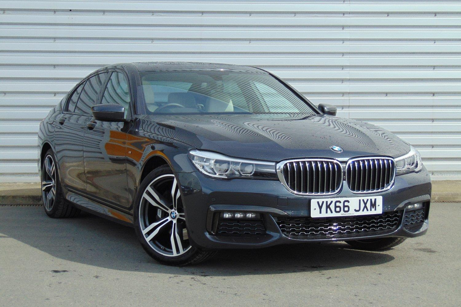 BMW 7 Series Saloon YK66JXM - Image 10