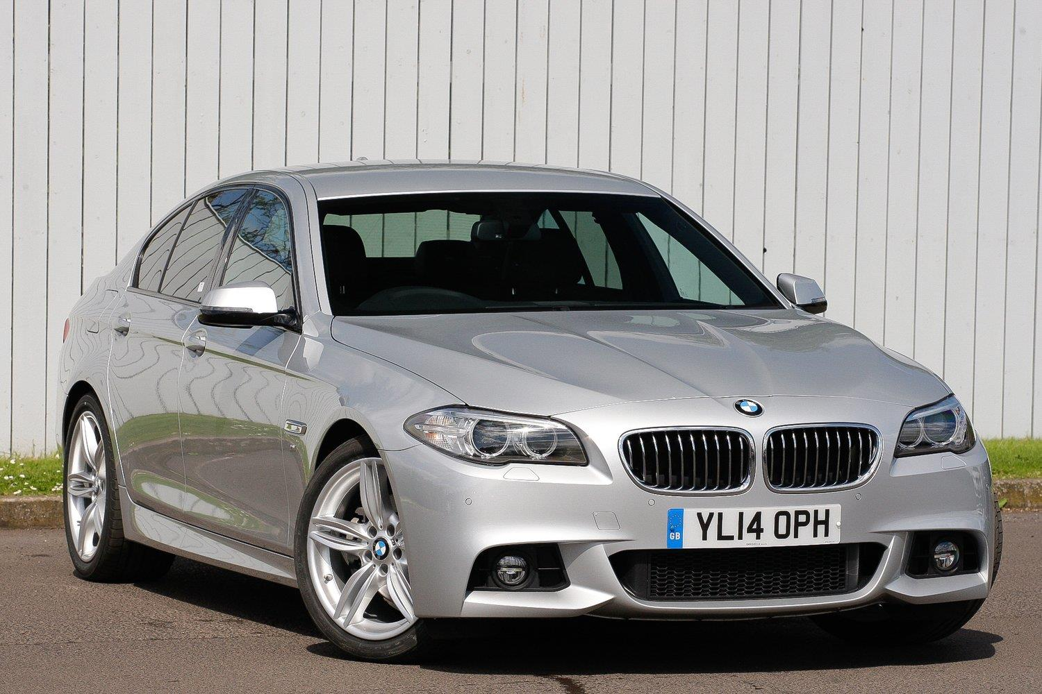 BMW 5 Series Saloon YL14OPH - Image 8