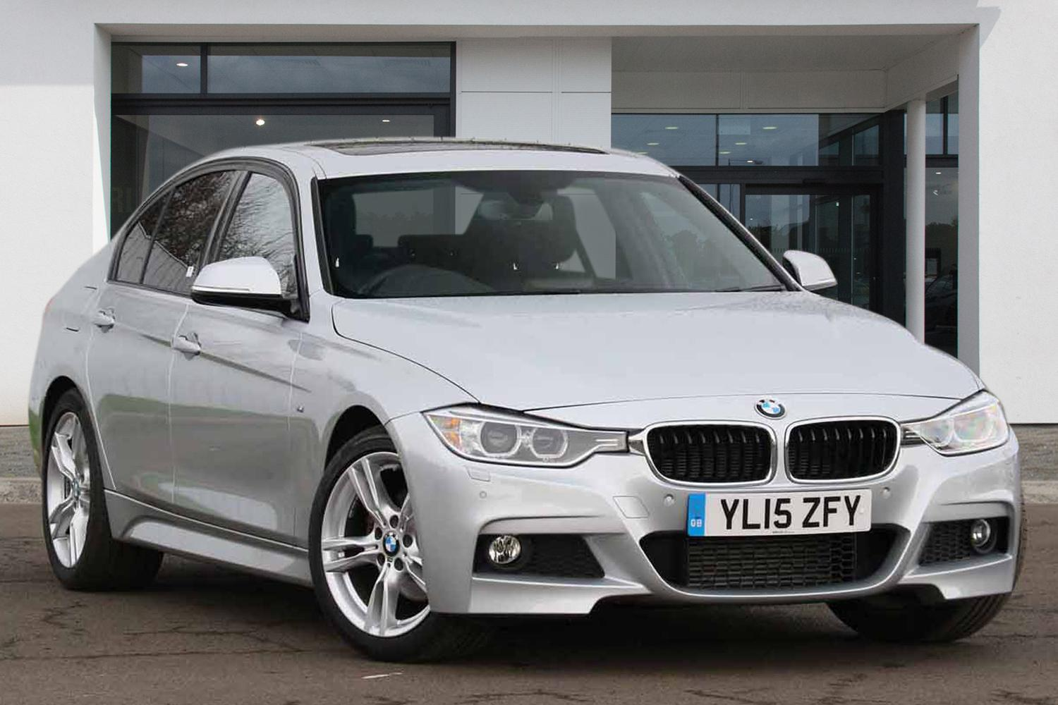 BMW 3 Series Saloon YL15ZFY - Image 5