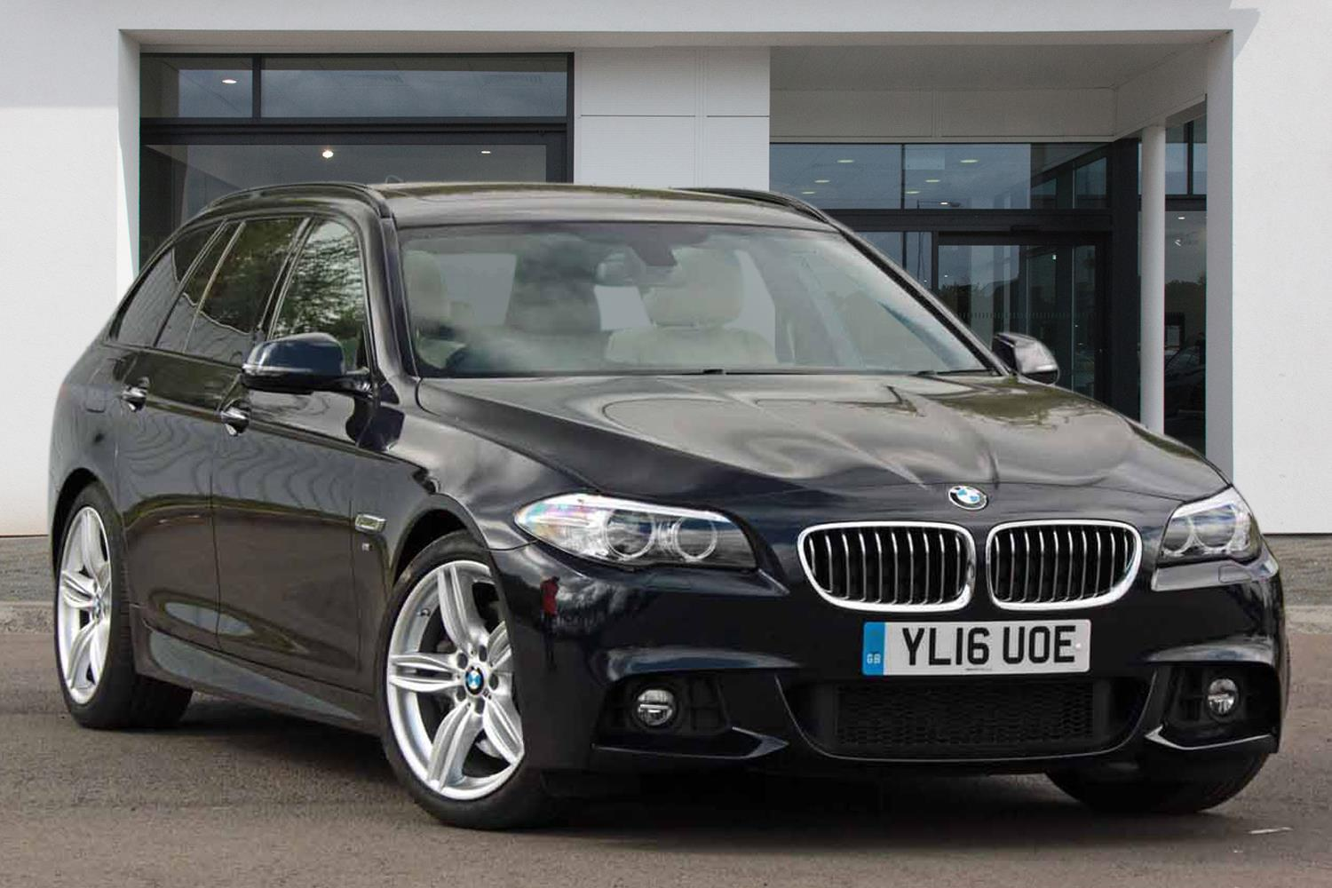 BMW 5 Series Touring YL16UOE - Image 2